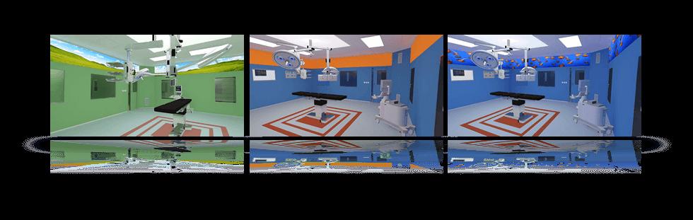 Moderní operační sály